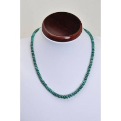 Collier chrysocolle petites roues