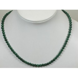 Collier malachite 5mm
