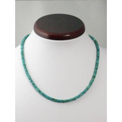Collier turquoise petites roues