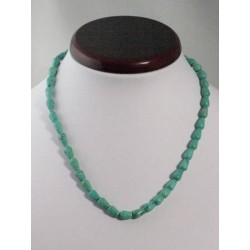 Collier turquoise poire