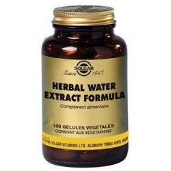 Herbal water extract anti-rétention d'eau