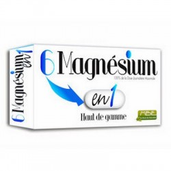 Magnésium 6 en 1 - MBE : anti-stress et anti-fatigue