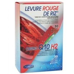 Levure rouge de riz + ortho q10h2 anti-cholestérol