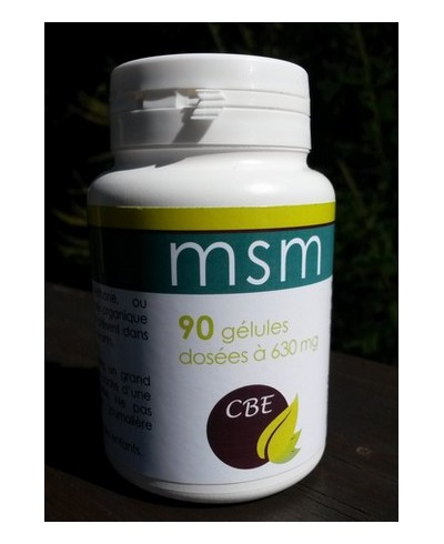 Duo bien-être articulaire : MSM + Glucosamine-Chondroïtine