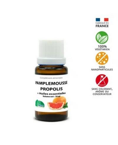 Pamplemousse + Propolis + 4 Huiles Essentielles : immunité