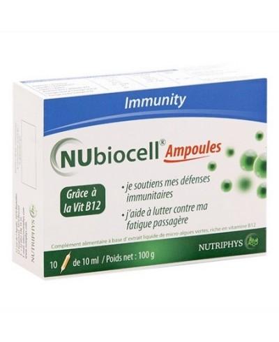 Nubiocell : ampoules 10 ml pour l'énergie et l'endurance