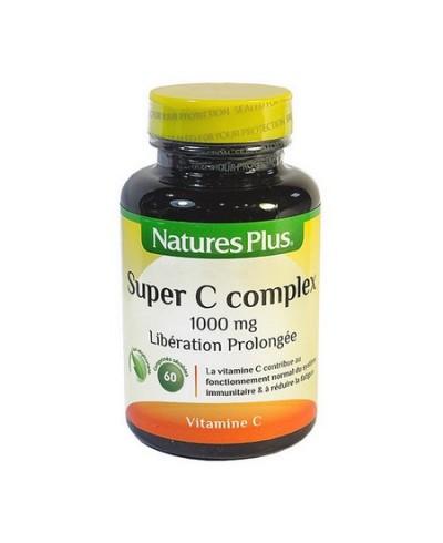 Super C complex à libération prolongée: vitamine C naturelle