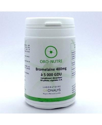Bromélaïne 400mg/5000gdu : fortement dosée