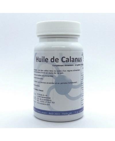 Huile de Calanus 60 gélules : omega 3