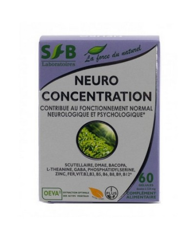 Neuro concentration de Sfb