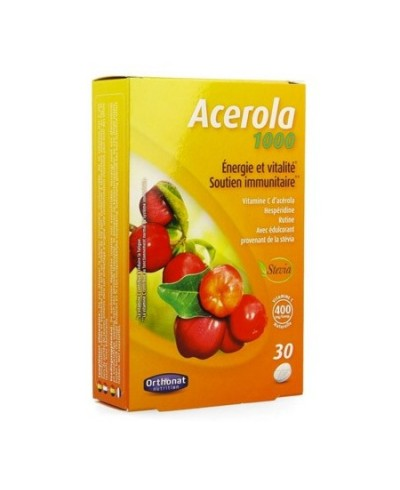 acérola 1000 - vitamine C boite de 30 comprimés