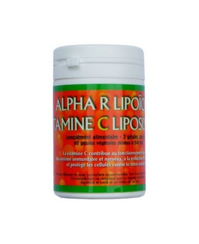 Alpha-R-Lipoïque Vitamine C liposomale