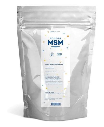 MSM Poudre 500 g