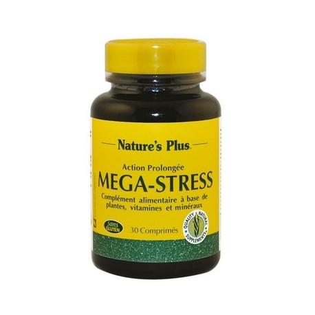 Mega stress action prolongée stress, déprime