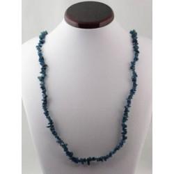 Sautoir baroque apatite bleue