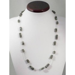 Collier labradorite long