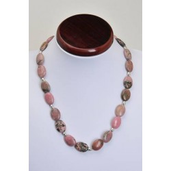 Collier rhodonite