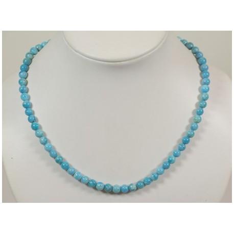 Collier turquoise arizona 5mm
