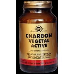 Charbon végétal troubles digestifs - solgar