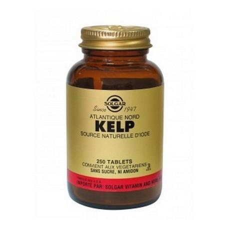 Kelp riche en iode