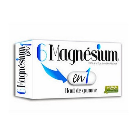Magnésium 6 en 1 - MBE : anti-stress et anti-fatigue