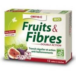 Fruits et fibres : double action fenouil (cubes) transit