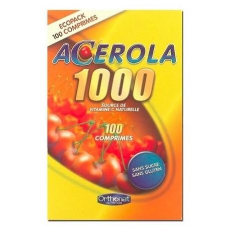 Acérola 1000 boite de 100 comprimés