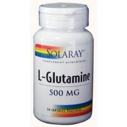 L - Glutamine 500 mg : réparation muscles et intestins