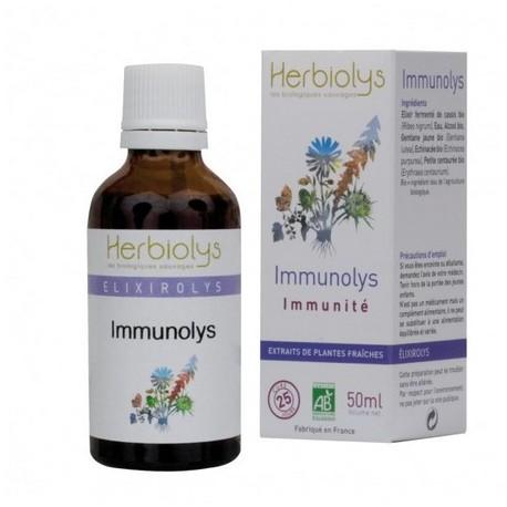 immunolys : elixir de plantes bio pour l'immunité