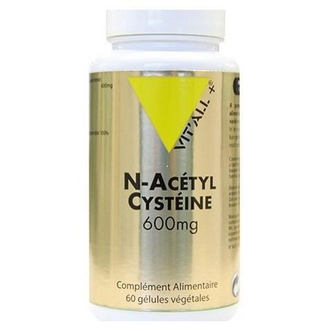 NAC Vitall + : antioxdant, protecteur du foie et poumons