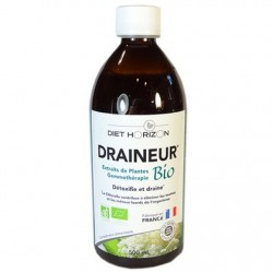 Draineur Bio -5 émonctoires : détox et rétention d'eau