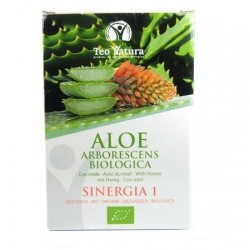 Aloe arborescens Sinergia immunostimulant et laxatif