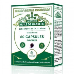 Huile de haarlem : capsules gastro-résistantes