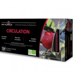 Circulation Ampoules Bio Diet horizon : plantes pour la circulation